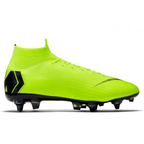 Nike Mercurial Superfly 6 Elite Anti-Clog Soft Ground Pro Football Boots - Yellow