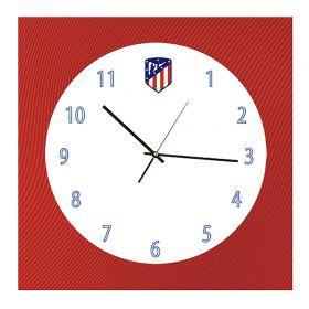 Atlético de Madrid Wall Clock - 30 x 30cm