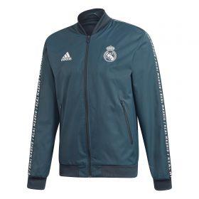 Real Madrid Anthem Jacket - Grey - Kids