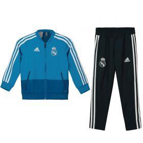 Real Madrid Training Presentation Suit - Infants - Blue