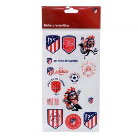 Atlético de Madrid Removable Sticker Pack