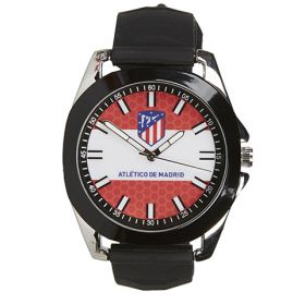 Atlético de Madrid Silicone Strap Watch - Black-Red-White - Kids