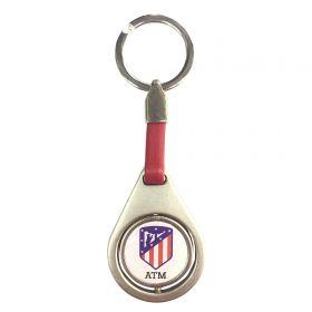 Atlético de Madrid Spinner Keyring