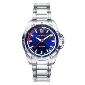 Atlético de Madrid Stainless Steel Watch - Junior