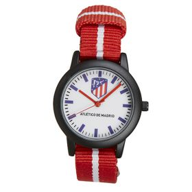 Atlético de Madrid Stripe Strap Watch - Red-White-Black - Kids