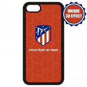 Atlético de Madrid iPhone 6 3D Crest and Slogan Phone Case - Red