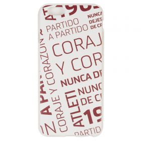 Atlético de Madrid iPhone 6/6S Courage and Heart Phone Case