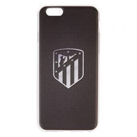 Atlético de Madrid iPhone 6/6S Crest Phone Case - Black/Silver