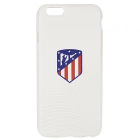 Atlético de Madrid iPhone 6/6S Crest Phone Case - White