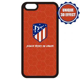 Atlético de Madrid iPhone 7/8 3D Crest and Slogan Phone Case - Red