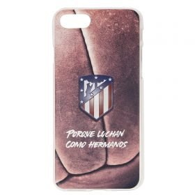 Atlético de Madrid iPhone 7/8 Because They Fight Like Brothers Crest Phone Case