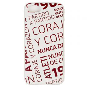 Atlético de Madrid iPhone 7/8 Courage and Heart Phone Case