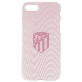 Atlético de Madrid iPhone 7/8 Crest Phone Case - Pink