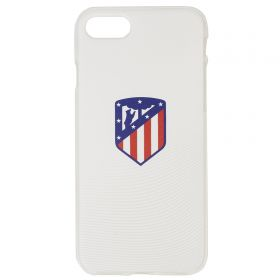 Atlético de Madrid iPhone 7/8 Crest Phone Case - White