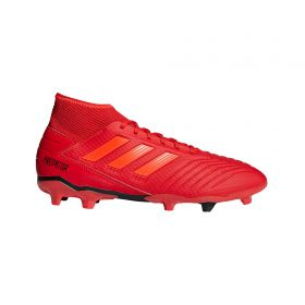 adidas Predator 19.3 Firm Ground Football Boots - Red