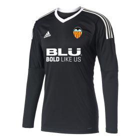 Valencia CF Goalkeeper Shirt 2017-18 - Black with Domenech 13 printing