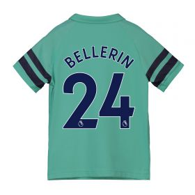 Arsenal Third Shirt 2018-19 - Kids with Bellerin 24 printing