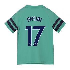 Arsenal Third Shirt 2018-19 - Kids with Iwobi 17 printing