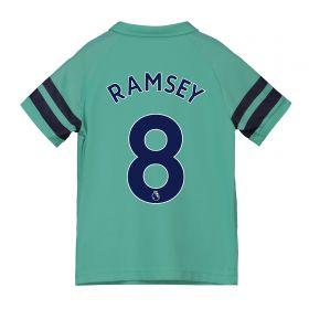 Arsenal Third Shirt 2018-19 - Kids with Ramsey 8 printing