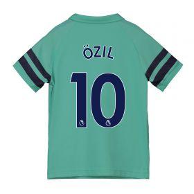 Arsenal Third Shirt 2018-19 - Kids with Özil 10 printing