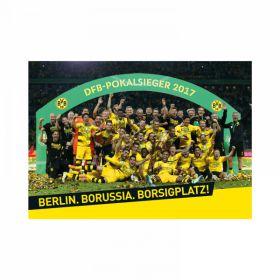 BVB DFB Pokal 2017 Winners Poster