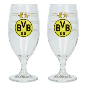 BVB Trophies Tulip Glass - Set of 2