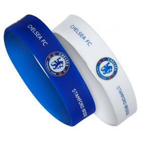 Chelsea Rubber Wristbands - 2 Pack