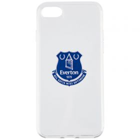 Everton iPhone 7/8 3D TPU Case - Clear