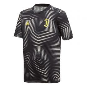 Juventus Pre Match Shirt - Black - Kids