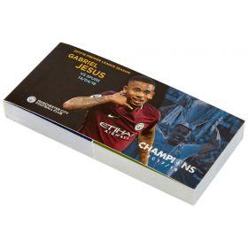 Manchester City 2017-18 Champions Gabriel Jesus Goal Flip Book