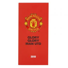Manchester United Official 2019 Diary