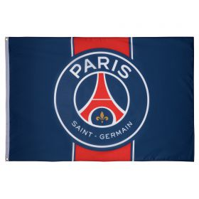 Paris Saint-Germain Crest Flag