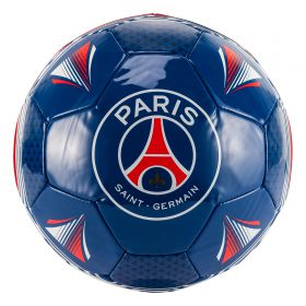 Paris Saint-Germain Crest Football - Size 5