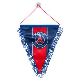 Paris Saint-Germain Crest Pennant - Large