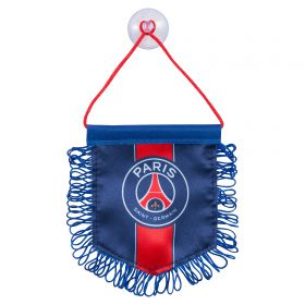 Paris Saint-Germain Crest Pennant - Medium