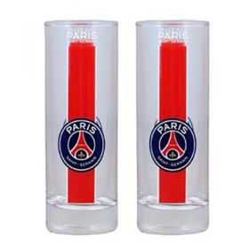Paris Saint-Germain Crest Water Glasses - Pack of 2