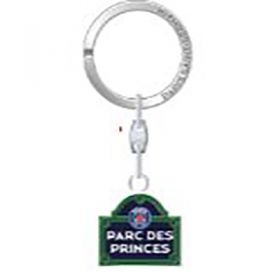 Paris Saint-Germain Du Parc Des Princes Street Sign Keyring