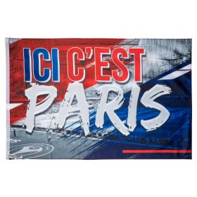 Paris Saint-Germain ICI C est Paris Flag