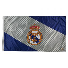 Real Madrid Stripe Flag - 5 x 3 Ft
