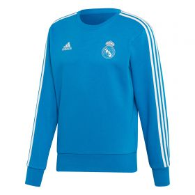 Real Madrid Training Sweat Top - Blue