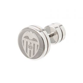 Valencia CF Crest Stud Earring - Stainless Steel