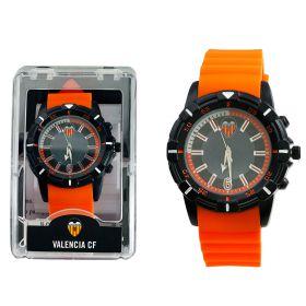 Valencia CF Silicone Strap Watch - Orange-Black