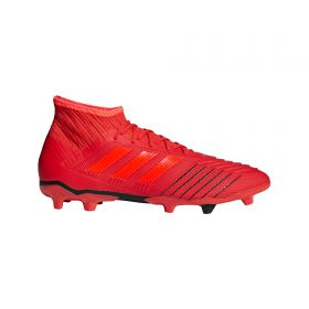 adidas Predator 19.2 Firm Ground Football Boots - Red