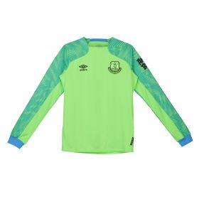 Everton Goalkeeper Home Shirt 2018-19 - Kids with Pickford 1 printing