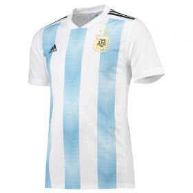Argentina Home Shirt 2018 - Kids with Messi 10 printing