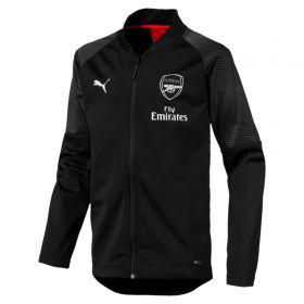 Arsenal Training Stadium Jacket - Black - Kids