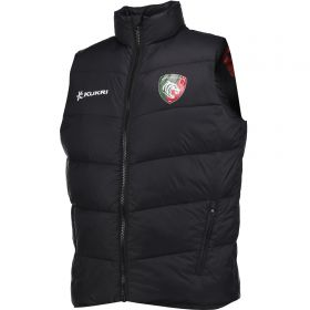 Leicester Tigers Quilted Gilet - Navy