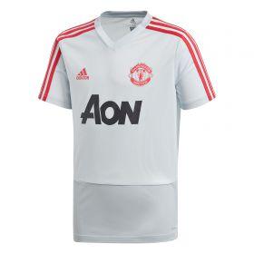 Manchester United Training Jersey - Kids - Grey