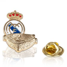 Real Madrid Crest Stadium Pin Badge