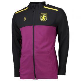 Aston Villa Full Zip Travel Jacket - Purple